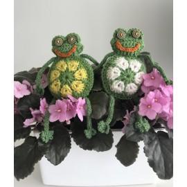 Crochete frog