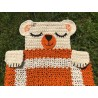 Crochet rug Teddy Bear