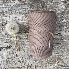 Medvilninė virvelė 3mm Taupe