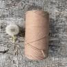 Medvilninė virvelė 3mm riešuto spalvos