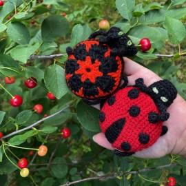Crochete ladybird
