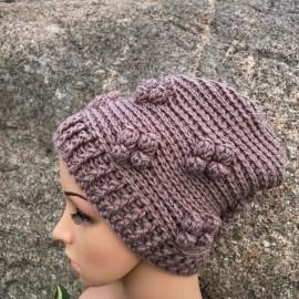 Nerta alpakos vilnos kepurė